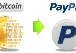 Cómo cambiar bitcoins por euros en PayPal
