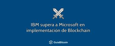 ibm vs microsft blockchain