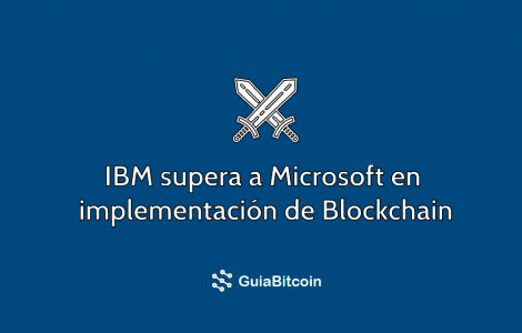 ibm vs microsft blockchain