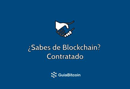 blockchain puestos de trabajo