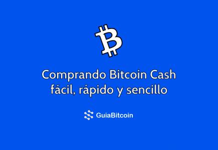 comprar bitcoin cash
