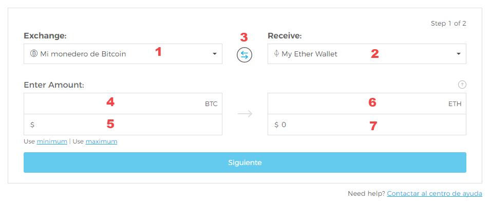 exchange blockchain