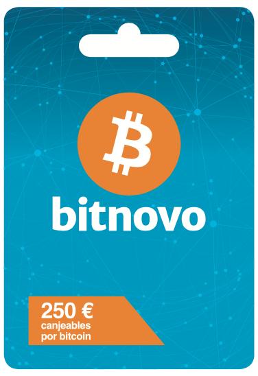 tarjeta bitcoin en metalico