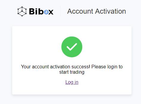 activacion cuenta bibox