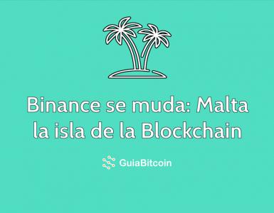 Binance se muda Malta la Isla de la Blockchain