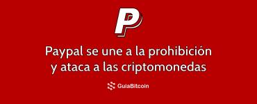 paypal prohibe criptomonedas
