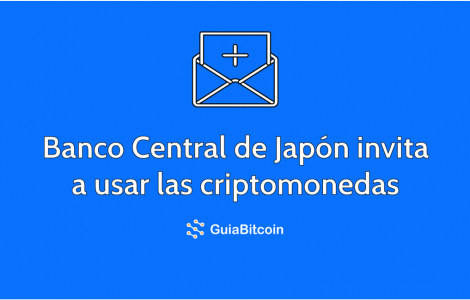 Banco Central de Japón apoya criptomonedas