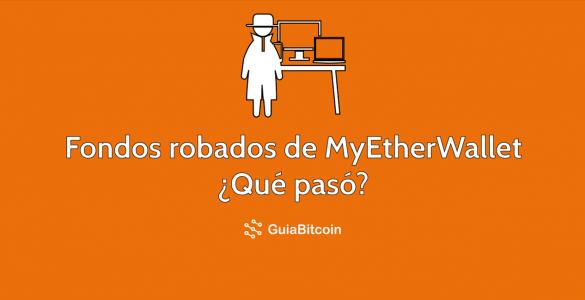 Fondos robados de MyEtherWaller por ataque DNS