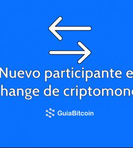Nuevo-participante-exchange-criptográfico