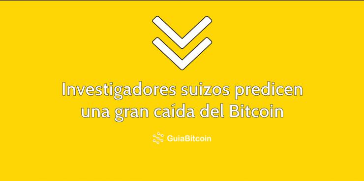 Prediccion suiza de caida del Bitcoin