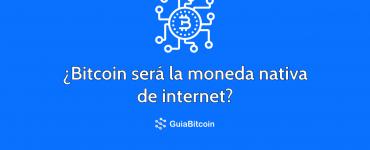 Bitcoin será la moneda nativa de internet