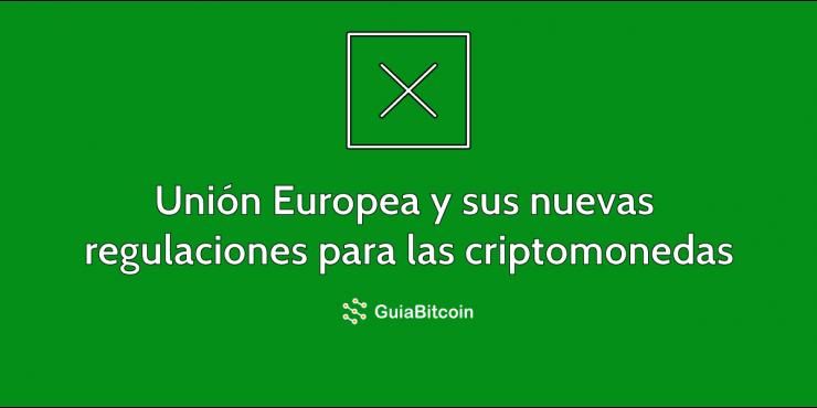 Nuevas regulaciones de la Unión Europea para evitar financiamiento de terroristas con criptomonedas