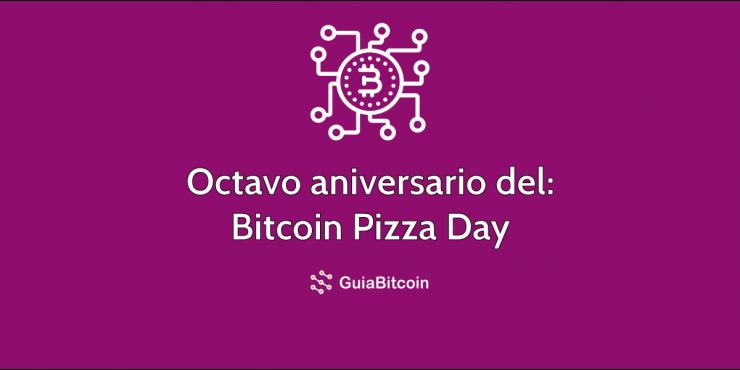 Octavo aniversario del Bitcoin Pizza Day