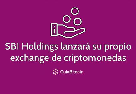 SBI Holdings lanzará su propia exchange de criptomonedas