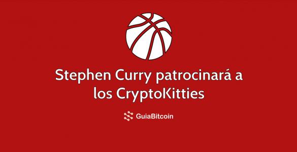 Stephen Curry patrocinará a los CryptoKitties