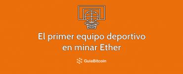 Baloncesto y minería Ethereum por una buena causa