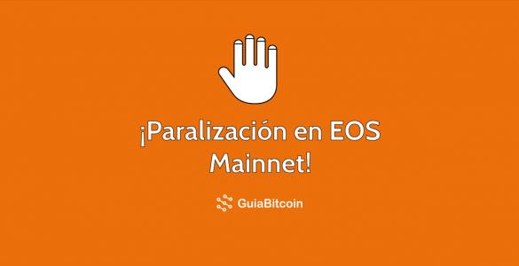 Hay problemas en el estado de EOS Mainnet